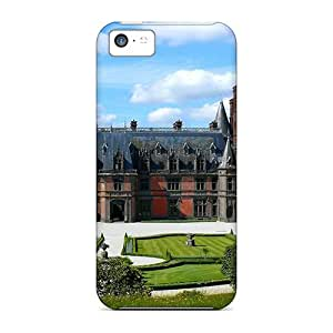 Awesome Castle In Scotl Flip Case With Fashion Design For Iphone 5c