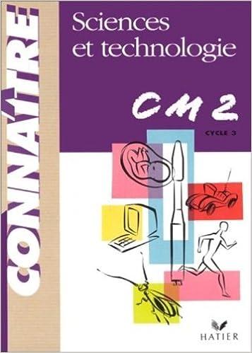 Livres gratuits Sciences et Technologie CM2 pdf