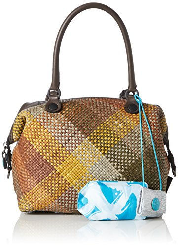 GABS G3-B M INFIES, Bolso Mujer, 1x31x38 cm Multicolor (Green Colors)