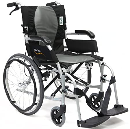 Amazon.com: Karman Ergo Flight - Silla de ruedas ergonómica ...