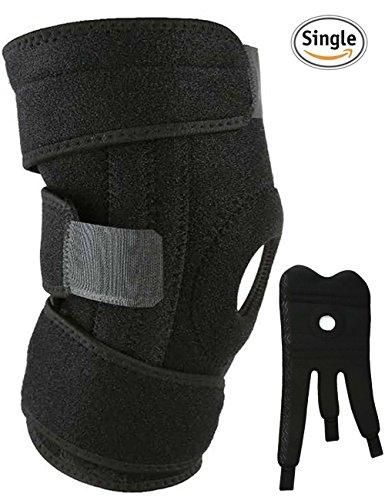 Adjustable Knee Patella Support Brace Sleeve Wrap - 4