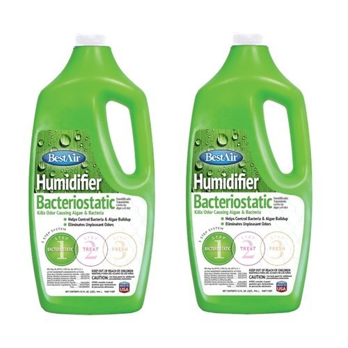 BestAir 3BT, Original BT Humidifier Bacteriostatic Water Treatment, 32 oz (2 Pack) (Humidifier Water Scent)