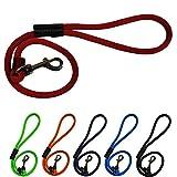 Peak Pooch Dog Rope Leash, 2 Foot