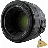 Auto Manual Focus AF MF 50mm F1.8 1:1.8 Standard Prime Lens for Nikon DSLRs Camera