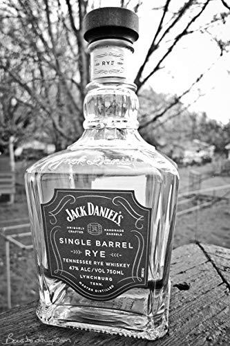(Jack Daniel's Single Barrel Select Empty Bottle Decanter 1L Bottle)