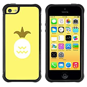 Pulsar iFace Series Tpu silicona Carcasa Funda Case para Apple iPhone 5C , Fruit