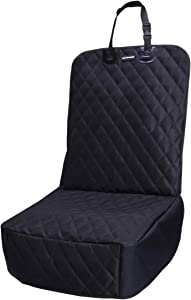 FATTY CHOWCHOW Dog Car Seat Covers 100% Waterproof Car Seat Protector for Pets Front Seat Scratch Proof Non-Slip Durable for Cars,Trucks & SUVs