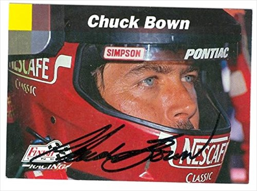 Autograph Warehouse 41141 Chuck Bown Autographed Trading Card Auto Racing Finish Line No. 30 from Autograph Warehouse