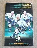 ANAHEIM MIGHTY DUCKS NHL HOCKEY MEDIA GUIDE - 2000 2001 - NEAR MINT