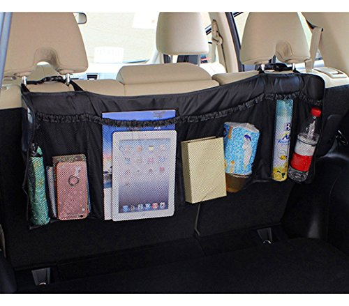 MEDIA WAVE store 899997 Organizer Space Saving 6 Seater Car Boot Fix to Seats: