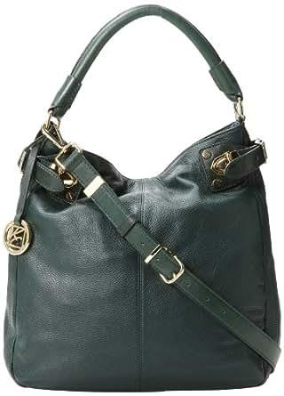 Kenneth Cole Grab HK61681LE Shoulder Bag,Emerald,One Size