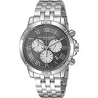 Raymond Weil Men's 'Tango' Quartz Stainless Steel Dress Watch, Color:Silver-Toned (Model: 8560-ST-00606)