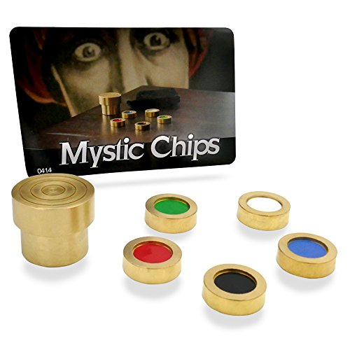 Mind Reading Magic (Magic Makers Mystic Chips - The Mind Reading Pocket Illusion)