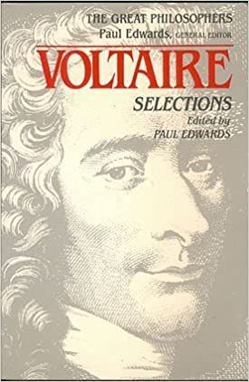Voltaire: Selections (Great Philosophers) by Voltaire (1989-05-01)