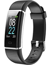 Willful Montre Connectée Femmes Homme Bracelet Connecté Smartwatch Podometre Cardio Etanche IP68 Enfant Sport Smart Watch Cardiofrequencemetre Marche pour Android iOS iPhone Samsung Xiaomi Huawei