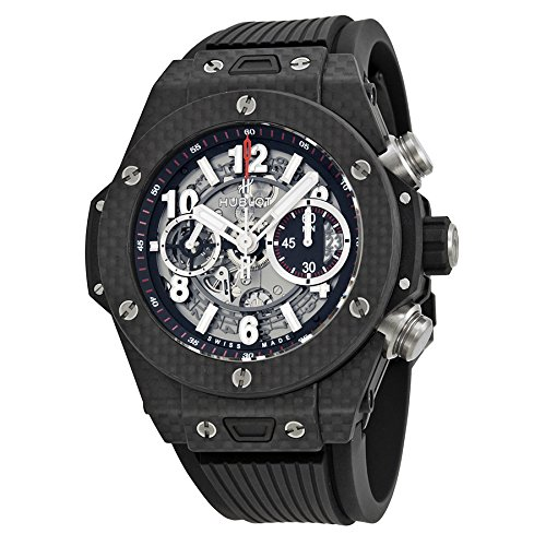 Hublot Big Bang UNICO Carbon Fiber Men's Automatic Chronograph - 411.QX.1170.RX