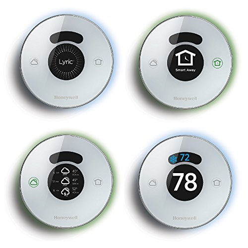Lyric Round 2.0 Wi-Fi Smart Programmable Thermostat with Geofencing, IFTTT, Works with Amazon Alexa by Honeywell (Image #2)