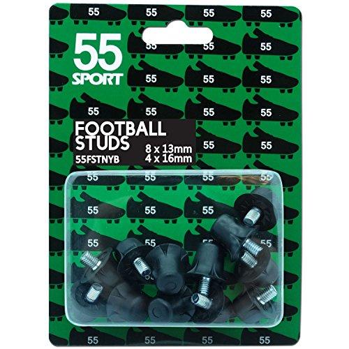 4x16 Mm Stollen Sport Ersatz 12x13 Cup 55 Nylon Schuh Black Fußball World APwYxvC