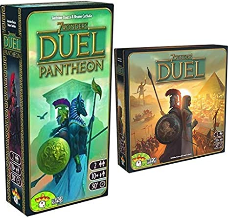 Repos Production 7 Wonders Duel and Pantheon Expansion Pack Bundle