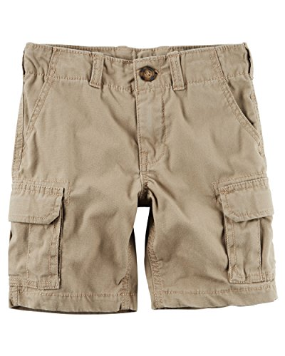 Toddler Boys Cargo Shorts Khaki (Carter's Boys Cargo Shorts, Khaki (2 Toddler))