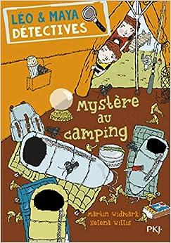 Book's Cover of 4. Léo et Maya, détectives : Mystère au camping (Français) Broché – 5 janvier 2017