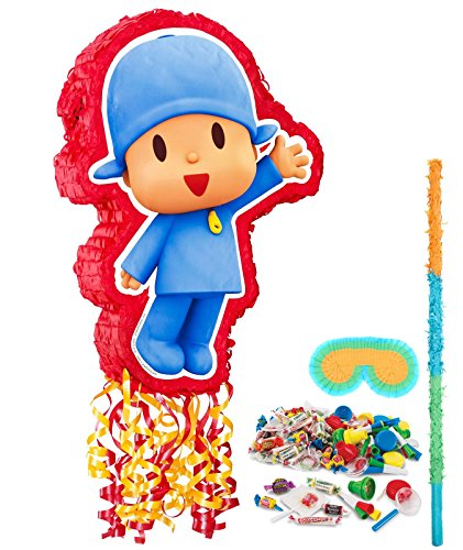 Pocoyo Party Supplies - Pinata Kit - Pocoyo Costume
