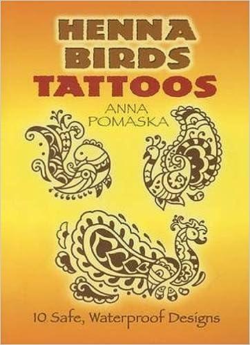 Henna Birds Tattoos Dover Tattoos Anna Pomaska