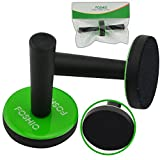 FOSHIO Car Wrap Black Gripper Magnet Holder with Fabric Felt Buffer on The Base for Car Wrapping Vinyl Tools Magnetic, Pack of 2