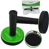 FOSHIO 2PCS Green Car Vinyl Wrap Gripper Magnet Holder Tints Tool Refrigerator Magnets