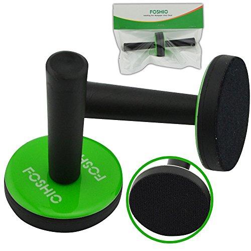 FOSHIO 2PCS Green Car Vinyl Wrap Gripper Magnet Holder Tints Tool Refrigerator Magnets by FOSHIO