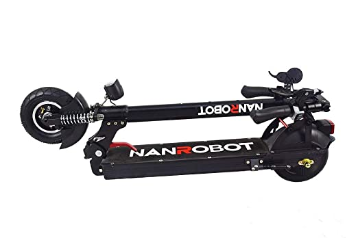 Amazon.com: NANROBOT X4 2.0 Patinete eléctrico plegable ...