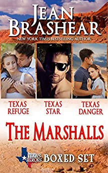The Marshalls Boxed Set: The Marshalls Books 1-3 (Texas Heroes) by [Brashear, Jean]