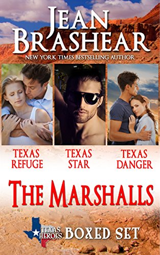 The Marshalls Boxed Set: The Marshalls Books 1-3 (Texas Heroes) cover