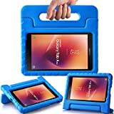 AVAWO Kids Case for New Samsung Galaxy Tab A 8.0 2017 (SM-T380/SM-T385) - Shock-Proof Light Weight Super Protection Handle Stand Case for Samsung Galaxy Tab A 8-inch 2017 Tablet, Blue