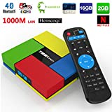 Henscoqi T95K Pro Amlogic S912 Octa Core 2G DDR3/ 16G EMMC Android 6.0 Marshmallow TV Box with Dual Band 2.4/5G Wifi Bluetooth 4K2K HDR 1000M Ethernet H.265