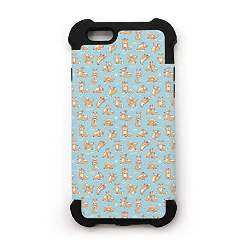 IPhone 7 Plus Case Sleeping Fox Animal TPU Shockproof Protective Phone Case Cover For IPhone 6/7/8 And IPhone 6/7/8 Plus