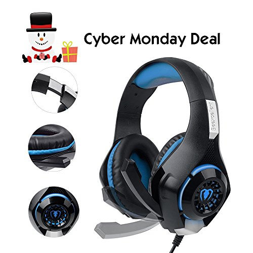 Xbox One Gaming Headphones with Microphone (Large Image)
