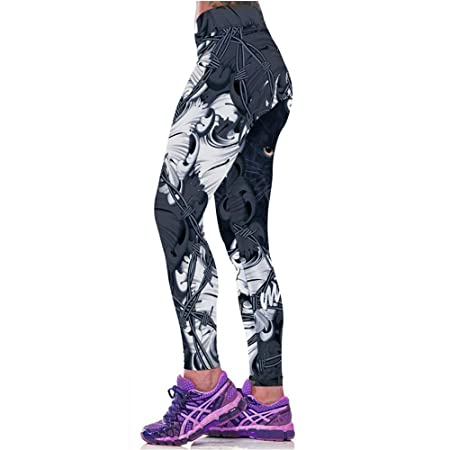 Pantalones Deportivos de Mujer Estiramiento Ajustado ...