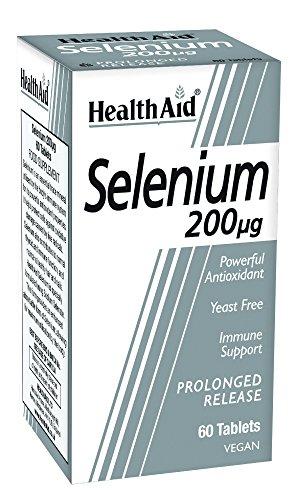 HealthAid Selenium 200mcg – 60 Tablets