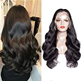 Maxine Full Lace Human Hair Wigs With Baby Hair Body Wave 180% Density