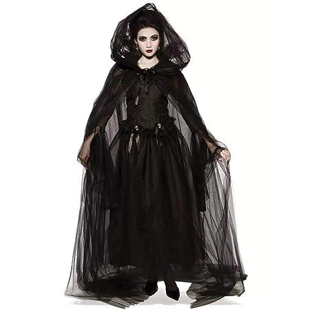 Da Donna Scuro Vampiro Halloween Gothic Costume