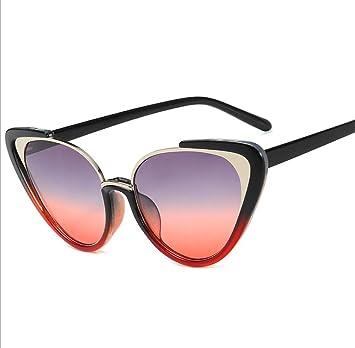 FILTERQ 2019 Nuevo Triángulo Gafas de Sol para Mujer Estilo ...