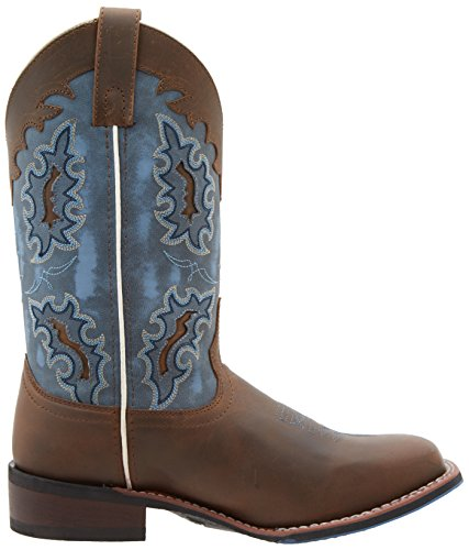 Boot Western Laredo Isla Tan BLUE Women's Blue Tan AA6tS14