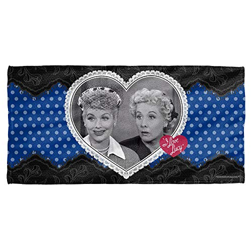 Trevco I Love Lucy Lace Of Friendship Towel (30x60) ()