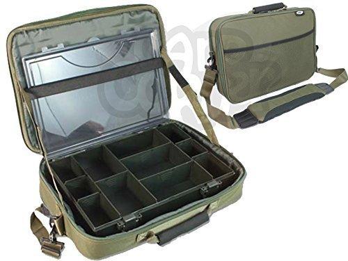 Für Karpfen- und Süßwasserangeln Station Tasche mit Tackle Box innen oder Reisen, Roving Angler Carp Corner