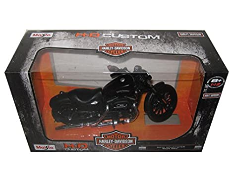 Amazon Com 2014 Harley Davidson Sportster Iron 883 Motorcycle Model