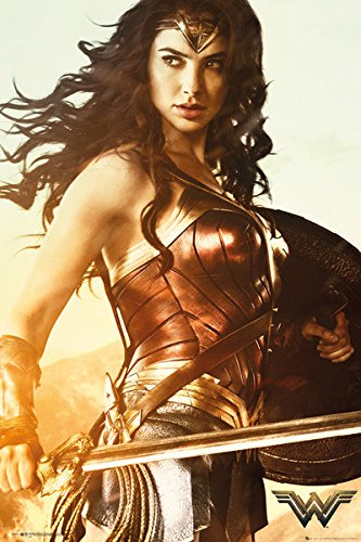 Wonder Woman - Movie Poster / Print