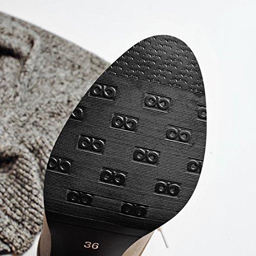 AIYOUMEI Classic Women's Grey Classic AIYOUMEI Boot AIYOUMEI Boot Classic Women's Women's Boot Grey AIYOUMEI Grey Women's FOB5Rqn