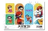 Meganebu! Clear Bookmark Set C