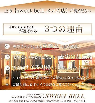 [sweet bell] ハーフパンツ メンズ クロップド ショート チノパン デニム ボトムス